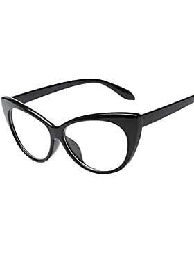 Tefamore Las mujeres de los hombres Vintage de madera como retro gafas Unisex Moda aviador gafas de sol