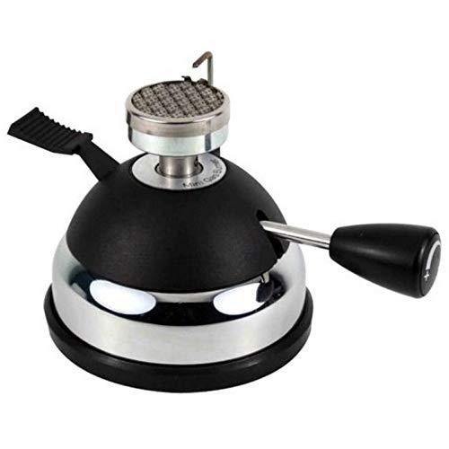 SODIAL Mini Gasbrenner Ht-5015Pa Mini Tisch Gas Butanbrenner Heizung Fuer Siphon Kaffeemaschine Odertee Tragbarer Gasherd, Mini Kaffee Herd, Siphon Topf, Moka Topf (Gas Tisch-herd)