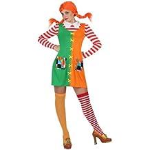 Atosa-19517 Disfraz Niña Traviesa, Color Naranja, ...