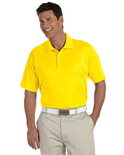 Adidas Golf A130Herren ClimaLite Pique st-sleeve Polo Gr. US X-Large, gelb (Climalite Golf)