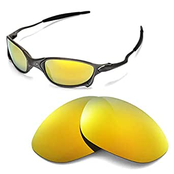 5371a15f81 Image Unavailable. Image not available for. Colour  Walleva Replacement  Lenses for Oakley X Metal XX Sunglasses - Multiple Options (24K Gold Mirror