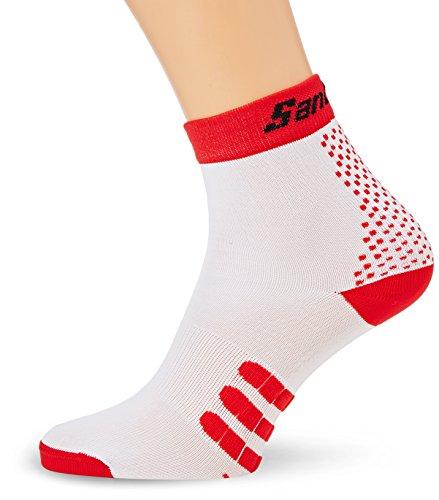 Santini Two - Chaussettes - rouge/blanc 2016 chaussettes homm