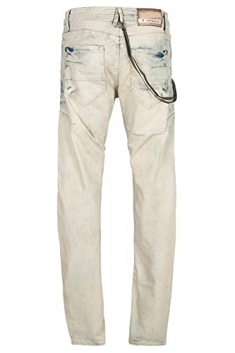 Cipo & Baxx Homme Jeans / Jeans Straight Fit London Blau