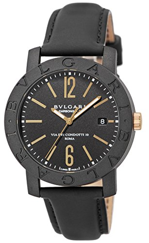 Bvlgari reloj de oro automático bbp40bcgld Hombres