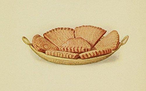 Petticoat Tails (Unknown - The Something-Different Dish 1915 Petticoat Tails shortbread Kunstdruck (45,72 x 60,96 cm))