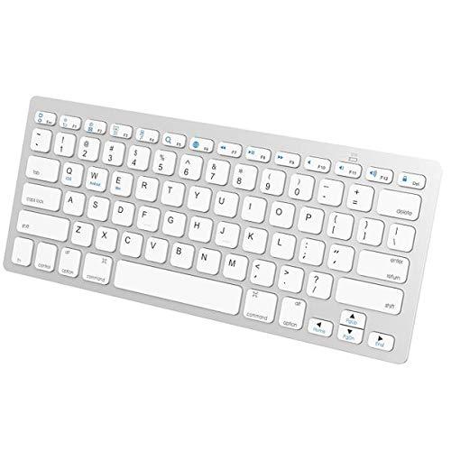 JETech 2156-KB-BT-UNIVERSAL-WH - Teclado Mini
