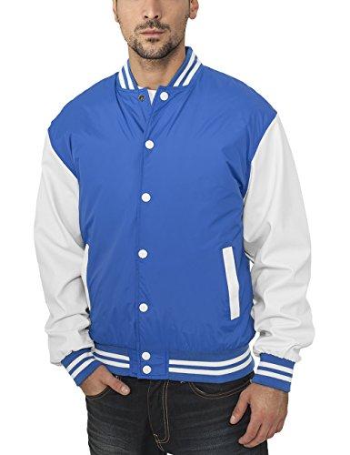 Urban Classics Jacke Light Jacket, Blouson Homme Bleu (Blau)