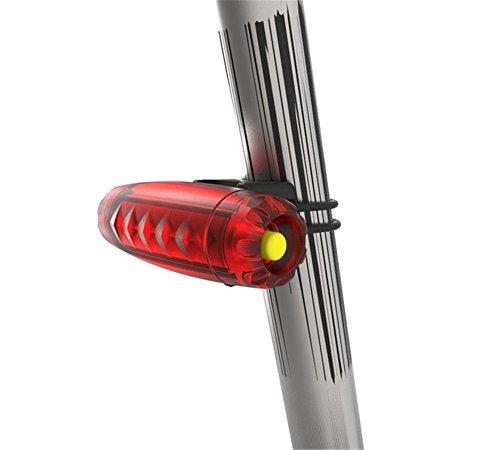 Luz trasera de bicicleta de montaña impermeable noche LUZ DE BICICLETA Tira de luz trasera la luz trasera