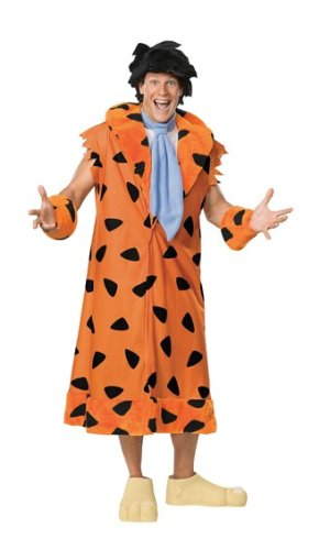 Kostüm Fred Feuerstein Familie Flintstones Mantel
