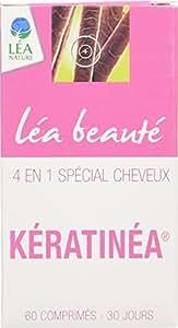 Léa Beauté Kératinéa Spécial Chute de Cheveux 60 Comprimés Lot de 3