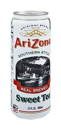 Arizona Sweet Southern Tea, 23-ounces (Pack of 12)