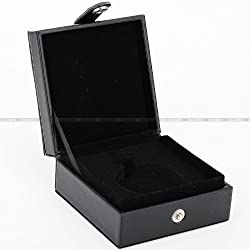 AMPM24 Luxury PU Leather Pocket Watch Storage Case Box ZC097