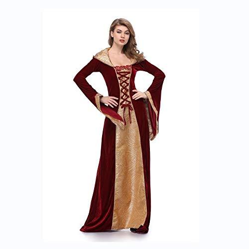 Yunfeng Hexenkostüm Damen Little Red Hat Halloween Cosplay einheitliche Palast Gräfin Vampir Kostüm