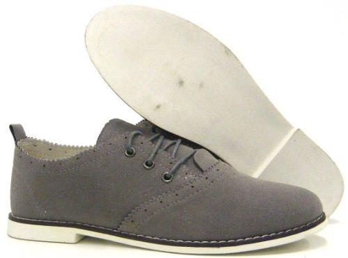 Freizeitschuhe Herren Schuhe Schnürer Halbschuhe Sneaker Grau