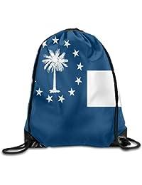 Preisvergleich für Vilico South Carolina State Flag Cute Gym Kordelzug Beutel Reiserucksack Schulrucksack