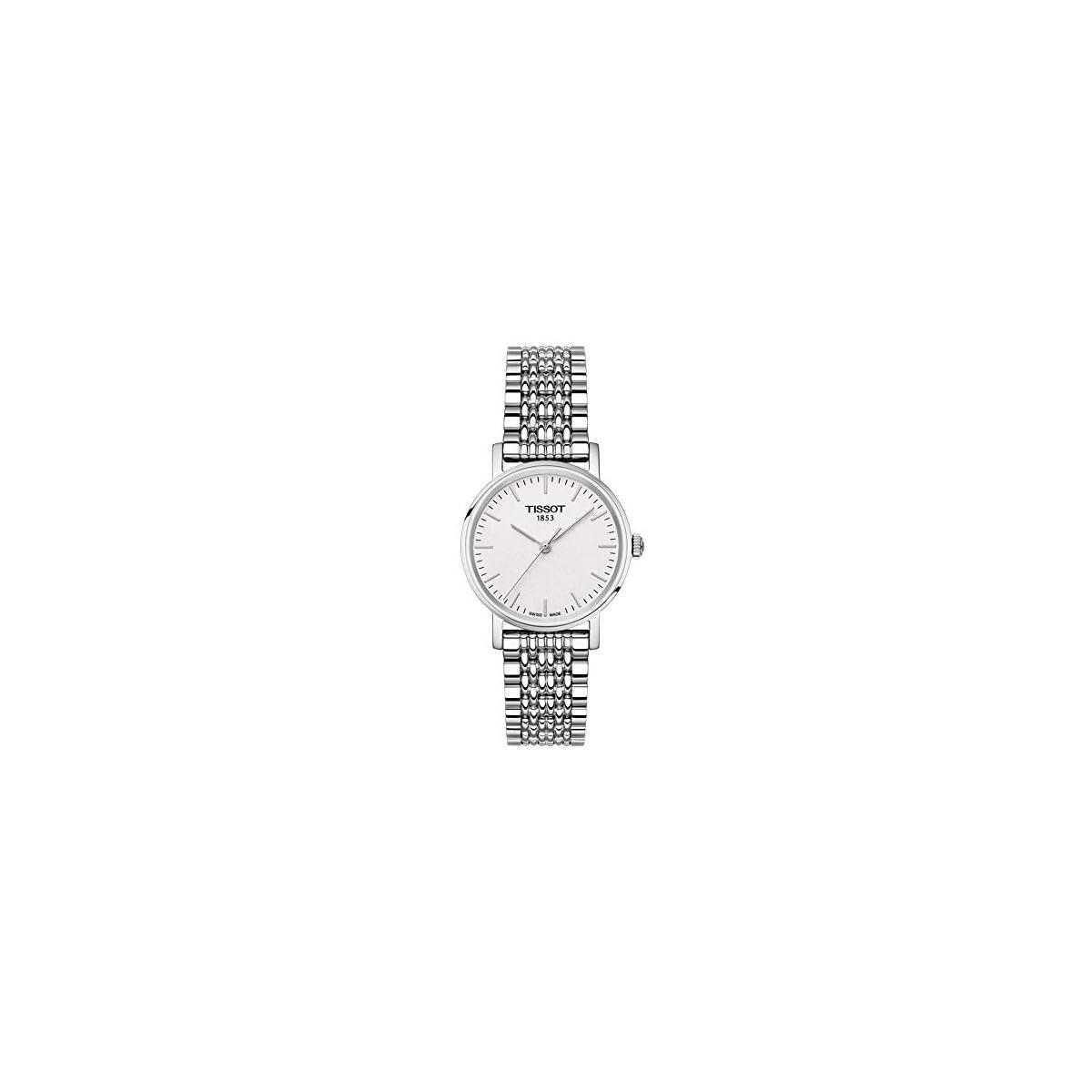 41N7fTxFJLL. SS1200  - Tissot Reloj Analógico para Unisex Adultos de Cuarzo con Correa en Acero Inoxidable T1092101103300