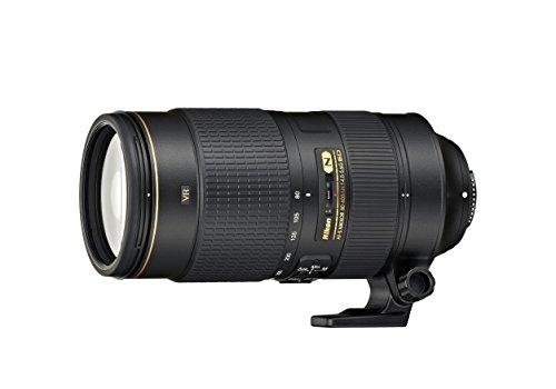 Nikon Obiettivo Nikkor AF-S 80-400 mm f/4.5-5.6G ED VR, Nero [Nital Card:...