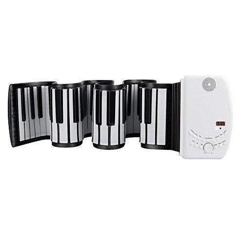 EVERYONE GAIN Portable 88 Tasten USB Soft Flexible Elektronische Klaviertastatur Flexible Anfänger Kinder Praxis Musikinstrumente