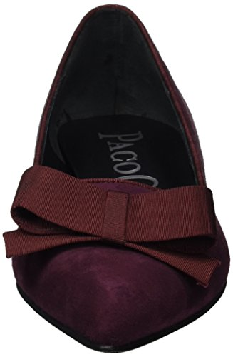 Paco Gil Ladies P-3327 Ballerine Chiuse Marrone (rasin)