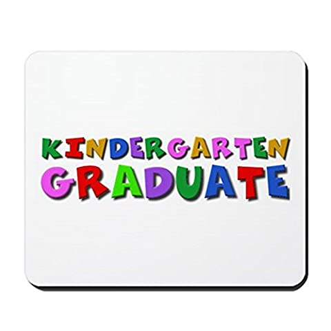 CafePress–Kindergarten Graduation Idee–rutschfeste Gummi Mauspad, Gaming Maus Pad