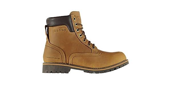Firetrap BT Total Homme Chaussures à Bottes Lacets Y7gy6fbv