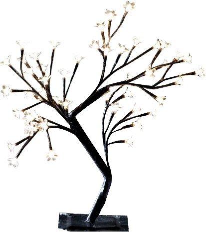 Mini Baum mit 120 LED Blüten, Höhe 100 cm, für Innen und Außen
