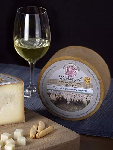 Queso de Oveja Añejo Cañarejal (Cuña 200 - 250 gr) - Medio queso