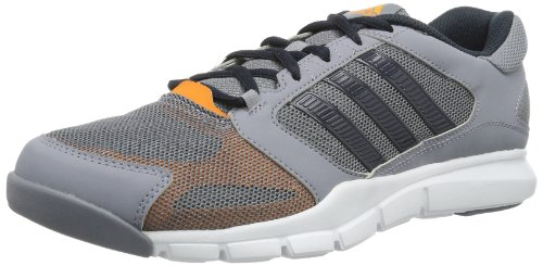 adidas Essential Star, Chaussures indoor homme Gris - Grau (tech grey/night shade f13/solar zest)