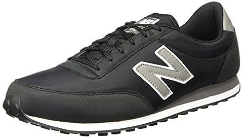 New Balance, Unisex-Erwachsene Sneaker, schwarz/grau, 40.5 EU (7 UK)