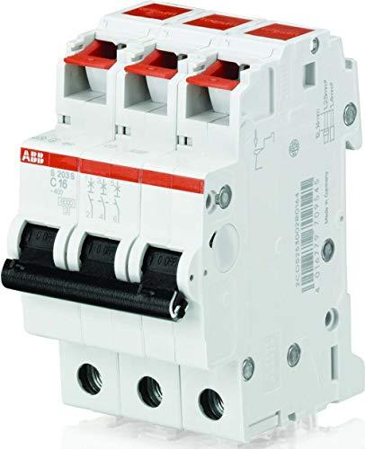 LS-Schalter, S 201S-C, 16A, 3-polig, ABB