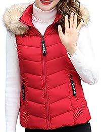 Amazon.es: chaquetas rojas mujer - Chalecos / Ropa de abrigo ...