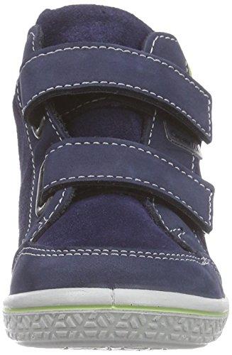 Ricosta  Kimo, Baskets hautes garçon Bleu - Blau (nautic/acido 170)