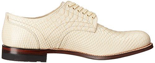 Stacy Adams Madison Hommes Cuir Oxford Ivoire