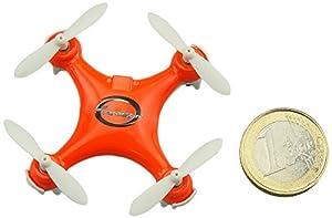 Amewi Blaxter X40 Remote controlled quadcopter - juguetes de control remoto (Polímero de litio, 100 mAh, 45 mm, 45 mm, 20 mm, 12,6 g)