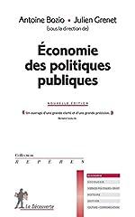 Économie des politiques publiques de Antoine BOZIO