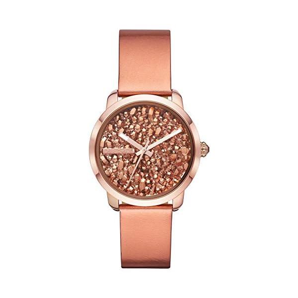 Diesel Reloj Analógico para Mujer de Cuarzo con Correa en Cuero DZ5583