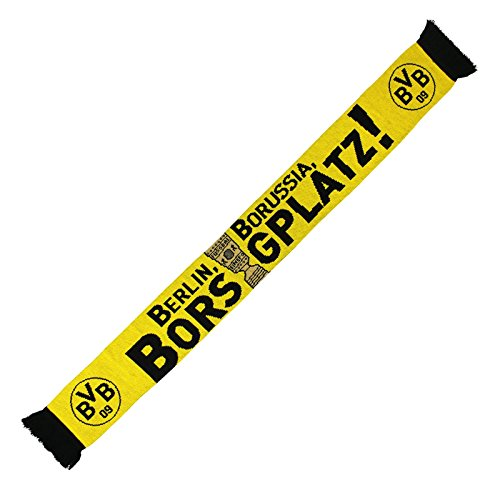 Borussia Dortmund Schal / Fanschal / Scarf DFB Pokal Sieger 2017 BVB 09 - plus gratis Aufkleber forever Dortmund