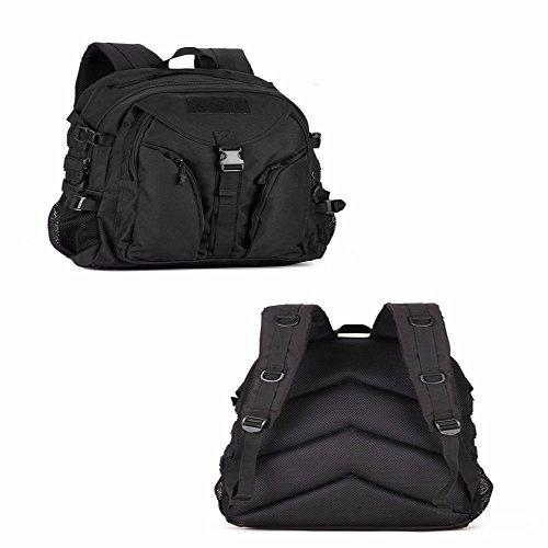TBB-Alpinismo Bag borsa da viaggio zaino di equitazione impermeabile campeggio borsa a tracolla,verde 36-55L Black 36-55L
