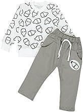 Covermason Unisexo Manga larga Impresión Camiseta y largos Pantalones (1 conjunto)