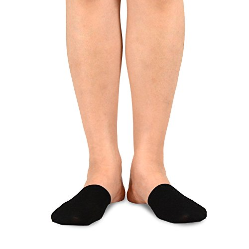 teehee Damen Fashion No Show rutschsicher Multi Paar mit rutschfestem Griff Silikon S/11785-5 Pairs