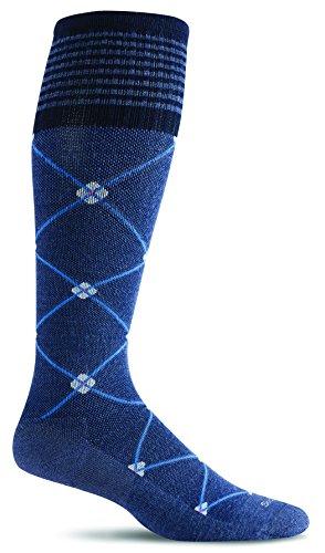 Sockwell Damen Elevation Socken, damen, denim, S/M (Sockwell Damen-thermostat)