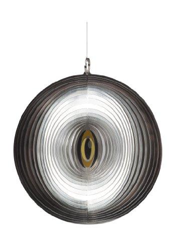 Velda 128033 Teichschutz Spiegelnder Kreisel gegen Reiher und Tauben, Heron Stop Spinner