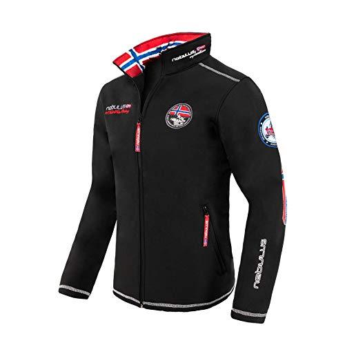 Nebulus Maestro Veste de ski Homme Noir FR : XL (Taille Fabricant : XL)