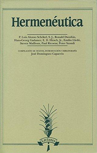 Hermenéutica (Lecturas)