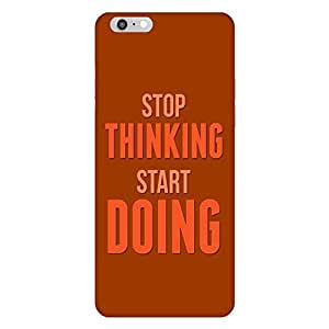 Mobo Monkey Designer Printed Back Case Cover for Apple iPhone 6s Plus :: Apple iPhone 6s+ (Start Stop :: Attitude :: Typography :: Positive :: Motivational)