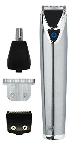 Wahl 9818-800 Körperrasierer, Li-Ionen-Batterie, Silber