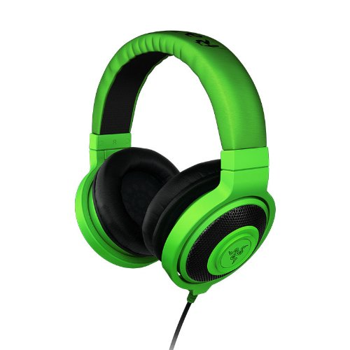 Razer Kraken – Analog Music & Gaming Headphones – FRML (Green)  RZ12-00870100-R3M1 41N7sWo9W6L