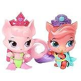 Disney - Le Petit Royaume des Palace Pets - Bella & Trésor - 2 Mini Figurines +...