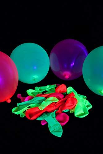 UV Floor Luftballons, 8717662463631, verschiedene Farben