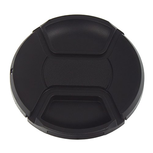 Smartfox Objektivdeckel Objektivklappe Objektivkappe Ø 67 mm mit Verschlussclip inkl. Schnur -